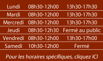 horaires mairie.fw