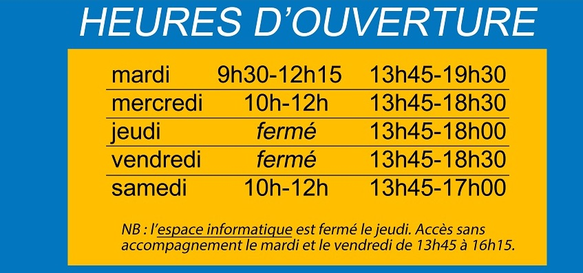 horaires 2018 01