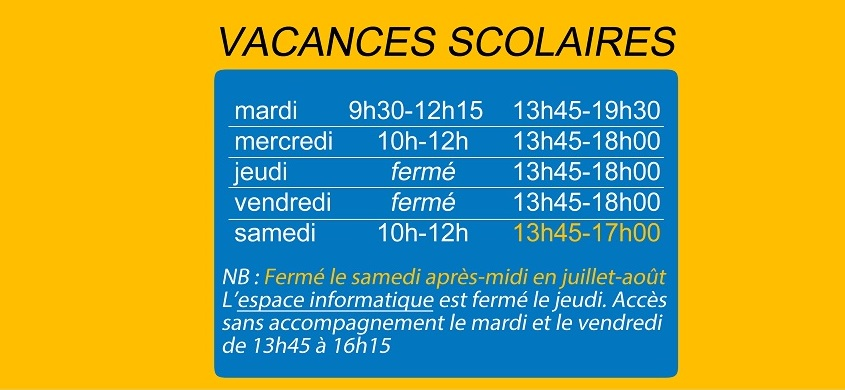 horaires 2018 02